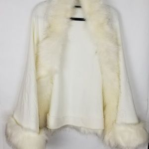 Jackets & Blazers - Bridal Cape Ivory One Size Fits All